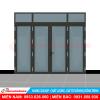 Cửa nhôm xingfa 4 cánh phụ kiện HMA