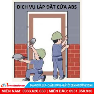 Dịch vụ lắp đặt cửa ABS