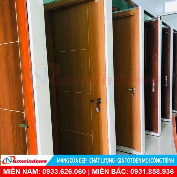 Mẫu cửa gỗ nhựa composite nw