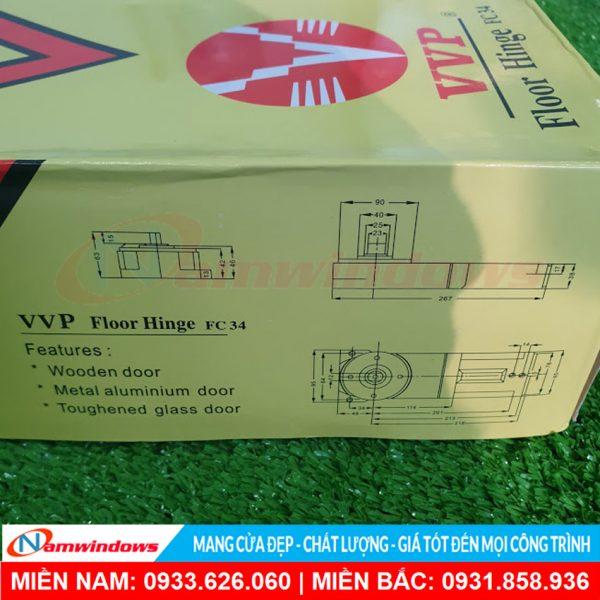 Bản lề thủy lực VVP FC34